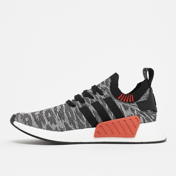 Adidas Shoes Nmd R2 Pk Tiger Camo Black White Poshmark